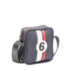 Petit sac besace bleu Rino R6