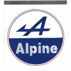 Ecusson Grand Modèle Alpine