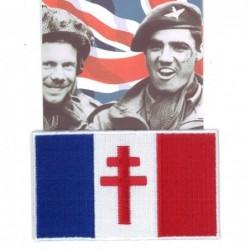 Ecusson militaire drapeau...