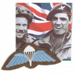 Ecusson militaire para BRITISH