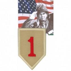 Ecusson militaire 1st INF....