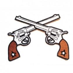 Ecusson Pistolets
