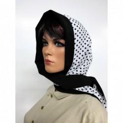 Foulard Lady Noir et Motifs...