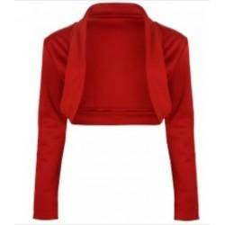 Gilet en jersey Rouge