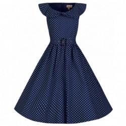 Robe Hetty Bleue Marine
