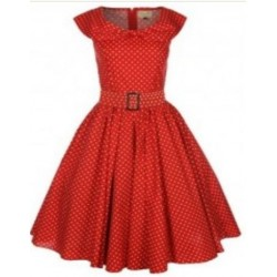 Robe Hetty Rouge