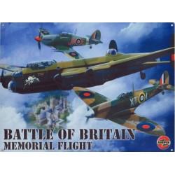 Plaque tôle aviation battle...
