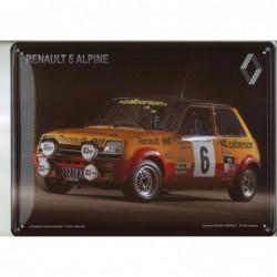 Plaque tôle R5 Alpine