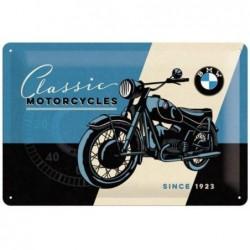 Plaque tôle BMW classic...