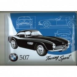 Plaque tôle BMW 507 touring...