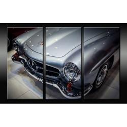 Triptyque Mercedes-Benz 190...