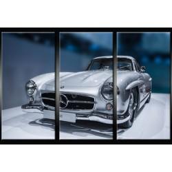 Triptyque Mercedes-Benz 300...