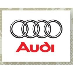 Plaque émaillée Audi Petit...