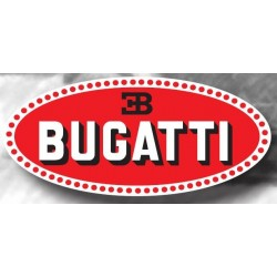 Plaque Emaillée Bugatti...