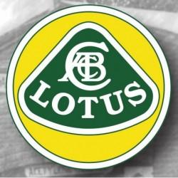 Plaque Emaillée Lotus grand...