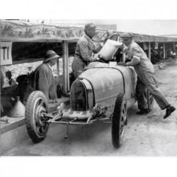 Poster géant Bugatti Course