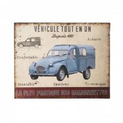Plaque tôle Citroën tout en un