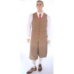 Pantalon Golf tissu carreaux