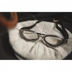 lunette aviator retro noir