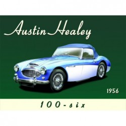 Plaque tôle Austin Healey...