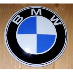 Plaque émaillée BMW grand...