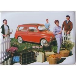 Plaque tôle Fiat 500...