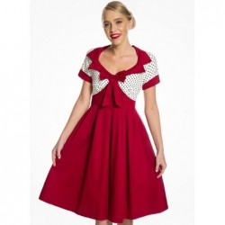 Robe Delilah rouge