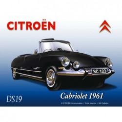 Plaque tôle Citroen DS 19...