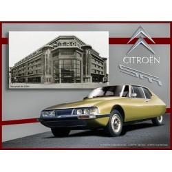 Plaque tôle Citroën