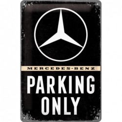 Plaque tôle Mercedes...