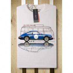 T-shirt blanc Original Race...