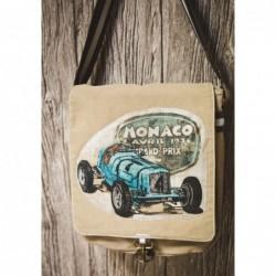 Sacoche vintage voiture...