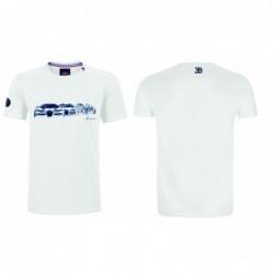 Tee-shirt Bugatti blanc