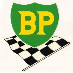 Autocollant BP drapeau