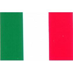 Autocollant drapeau Italie