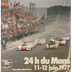 Affiche 24 H du Mans 1977