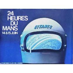 Affiche 24 H du Mans 1975