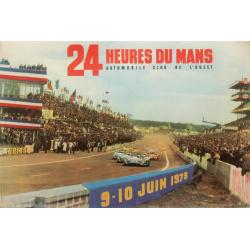 Affiche 24 H du Mans 1973