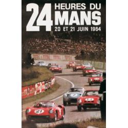 Affiche 24 H du Mans 1964