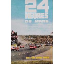Affiche 24 H du Mans 1965