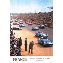 Affiche 24 H du Mans 1960