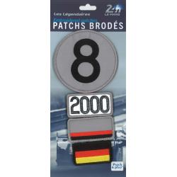 Ecussons 24H Le Mans 2000