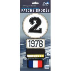 Ecussons 24H Le Mans 1978