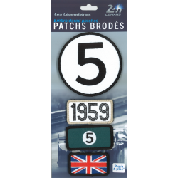 Ecussons 24H Le Mans 1959