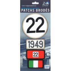 Ecussons 24H Le Mans 1949