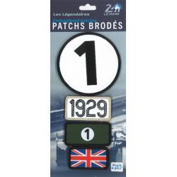 Ecussons 24H Le Mans 1929