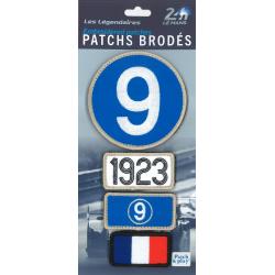 Ecussons 24H Le Mans 1923