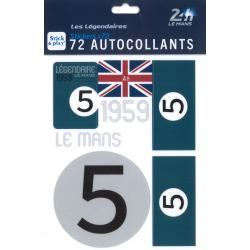 Autocollants 24H Le Mans 1959