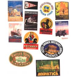 Stickers de VALISE 4