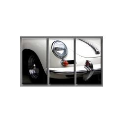 Triptyque Porsche 356